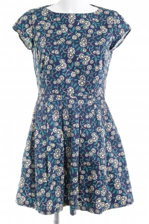 Marc O'Polo A-Linien Kleid florales Muster extravaganter Stil