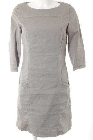 Marc O'Polo A-Linien Kleid hellgrau Casual-Look