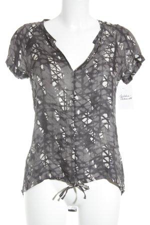 Marc O'Polo ärmellose Bluse grafisches Muster schlichter Stil