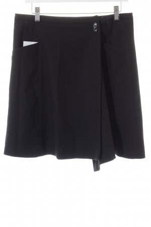 Marc O'Polo Asymmetrie-Rock schwarz Casual-Look