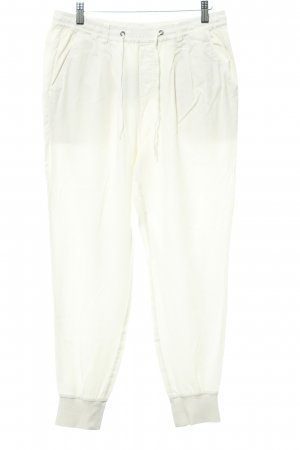 Marc O'Polo Baggy Pants wollweiß-creme Segel-Look