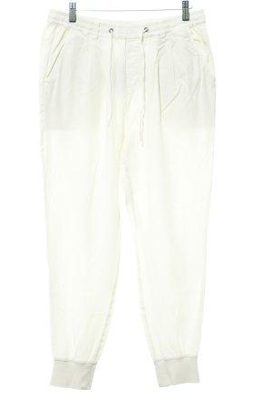 Marc O'Polo Pantalón abombado blanco puro-crema estilo marinero
