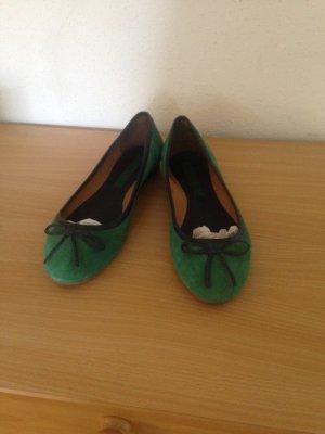 Marc O' Polo Ballerina Gr. 38 Smaragdgrün