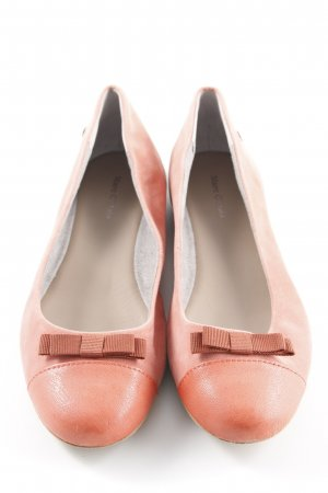Marc O'Polo Ballerinas mit Spitze apricot Casual-Look