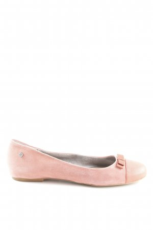 Marc O'Polo Ballerinas with Toecap apricot leather