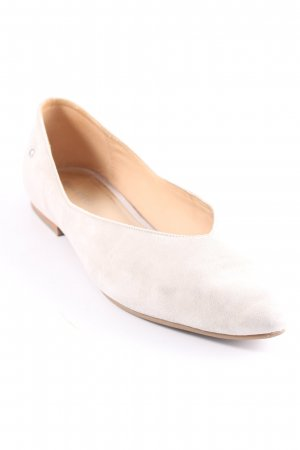 Marc O'Polo Ballerinas with Toecap light grey casual look
