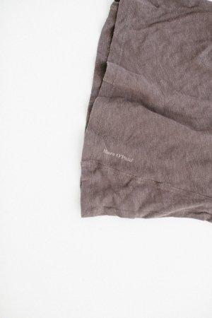 Marc O'Polo Baumwoll-Leinen T-Shirt braun