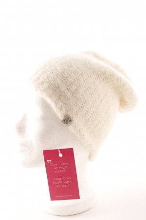 Marc O'Polo Beanie licht beige casual uitstraling