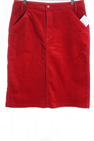 Marc O'Polo Bleistiftrock rot Casual-Look