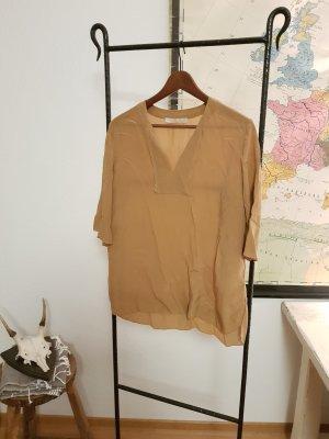 Marc O'Polo Bluse aus 100% Seide in braun
