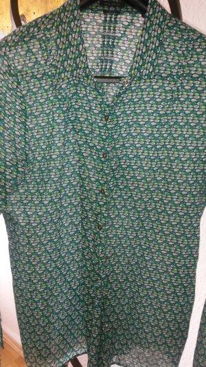 Marc o' Polo Bluse Hemd grün Retro Organic Gr.38 *top*