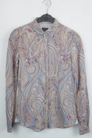 Marc O'Polo Bluse Hemdbluse Gr. 34 Paisley Muster (18/4/386)