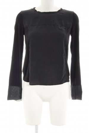 Marc O'Polo Bluseneinsatz anthrazit Casual-Look