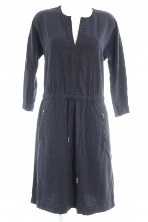 Marc O'Polo Blusenkleid dunkelblau schlichter Stil