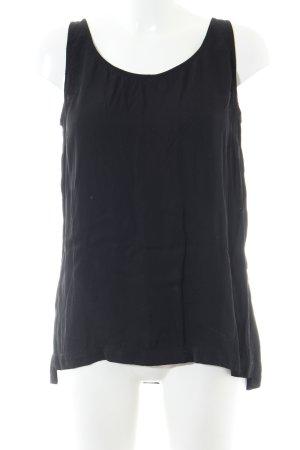 Marc O'Polo Blouse topje zwart zakelijke stijl