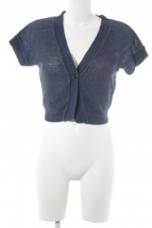 Marc O'Polo Bolero dunkelblau Casual-Look