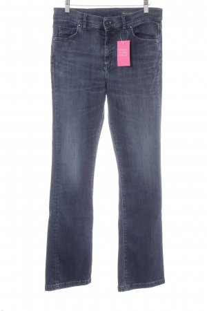 Marc O'Polo Boot Cut Jeans dunkelblau Casual-Look