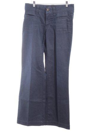 Marc O'Polo Boot Cut Jeans dunkelblau schlichter Stil