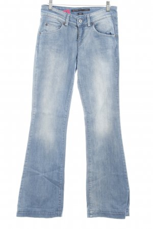 Marc O'Polo Boot Cut Jeans kornblumenblau Casual-Look