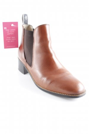 Marc O'Polo Booties cognac-dunkelbraun Country-Look