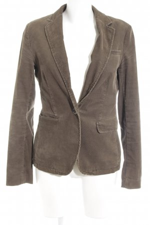 Marc O'Polo Boyfriend-Blazer graubraun Business-Look