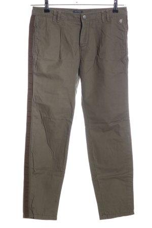Marc O'Polo Pantalon boyfriend brun style décontracté