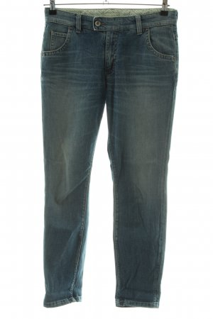 Marc O'Polo Boyfriendjeans blau Casual-Look