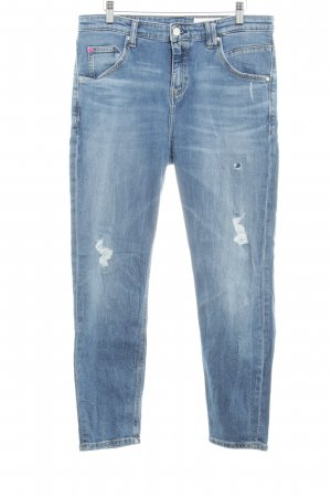 Marc O'Polo Boyfriend jeans staalblauw-azuur casual uitstraling