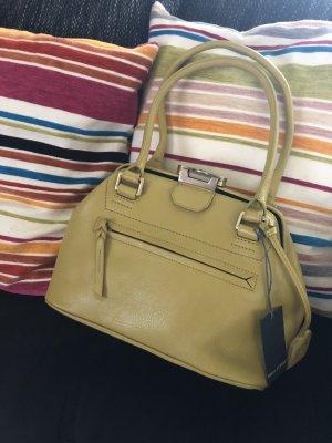 Marc O'Polo Frame Bag lime yellow leather