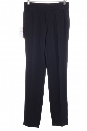 Marc O'Polo Bundfaltenhose dunkelblau Business-Look