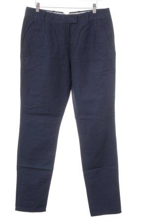 Marc O'Polo Pantalon à pinces bleu foncé style d'affaires