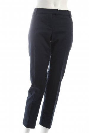 Marc O'Polo Bundfaltenhose dunkelblau klassischer Stil
