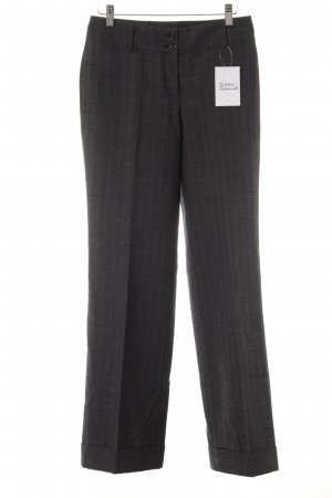 Marc O'Polo Bundfaltenhose dunkelgrau Business-Look