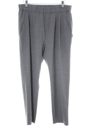 Marc O'Polo Bundfaltenhose grau Business-Look