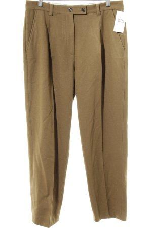 Marc O'Polo Pantalon à pinces marron clair style d'affaires