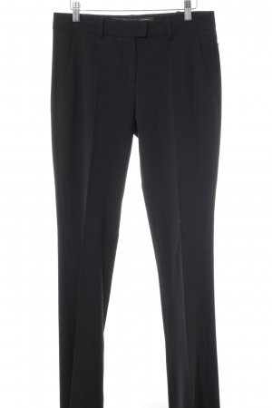 Marc O'Polo Bundfaltenhose schwarz Business-Look