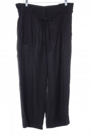 Marc O'Polo Bundfaltenhose schwarz Casual-Look