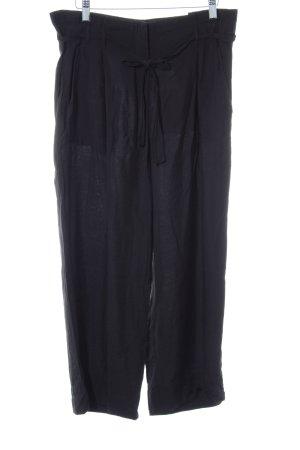 Marc O'Polo Pantalon à pinces noir style décontracté