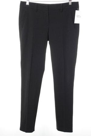 Marc O'Polo Bundfaltenhose schwarz Elegant