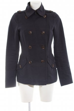 Marc O'Polo Pea Jacket black Ornamental buttons