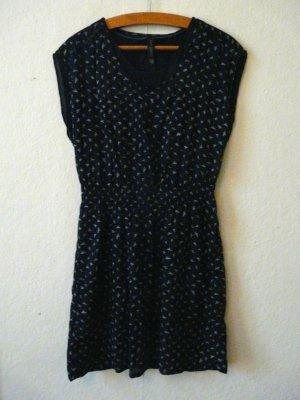 Marc O'Polo Campus Kleid dunkelblau/weiß-gemustert