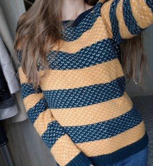 Marc O'Polo Sweater oranje-blauw
