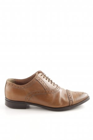 Marc O'Polo Scarpa cap-toe marrone stile professionale