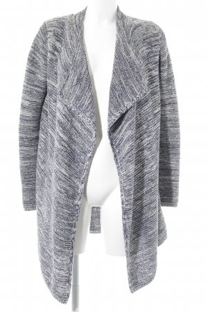 Marc O'Polo Cardigan blau-weiß meliert Casual-Look