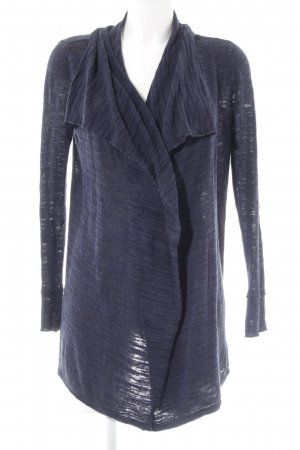 Marc O'Polo Cardigan dunkelblau meliert Casual-Look