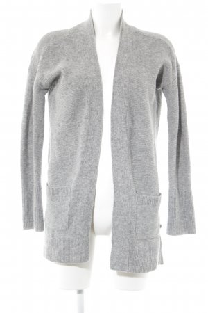 Marc O'Polo Cardigan grau meliert Casual-Look