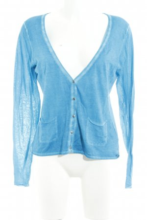 Marc O'Polo Cardigan neonblau Bleached-Optik