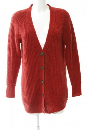 Marc O'Polo Cardigan rot Casual-Look