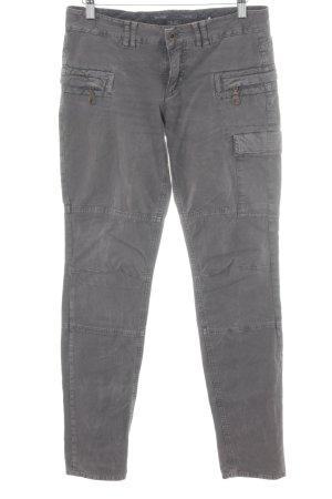 Marc O'Polo Pantalone cargo grigio-lilla stile urbano