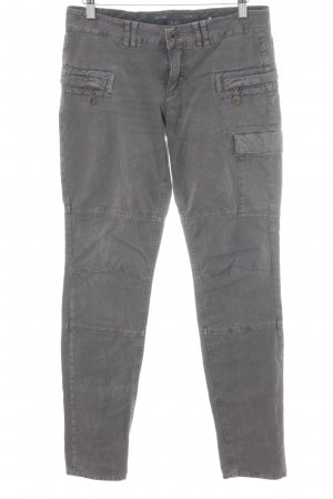 Marc O'Polo Cargo Pants grey lilac urban style